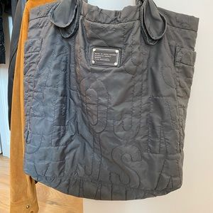 Marc by Marc Jacobs Large Gray Logo Tote Bag